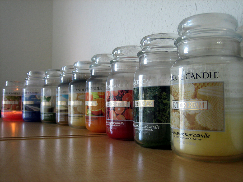 Anyone who has been to my office has likely walked by the large collection of yankee candles located in my store room
